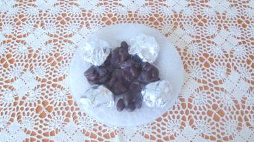 Bomboane de ciocolata cu migdale