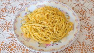 Spaghete cu usturoi