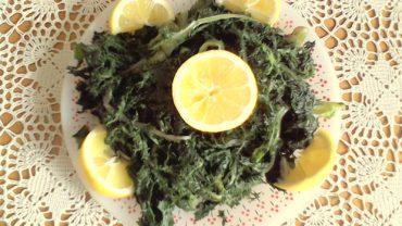 Salata de verdeturi fierte