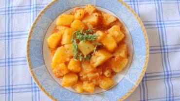 Iahnie de cartofi cu aroma de oregano