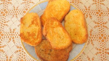 Felii de paine cu ou – « Avgofetes »